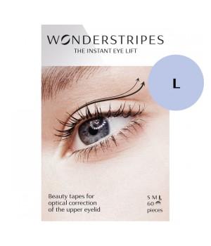 Wonderstripes Paski podnoszące powiekę roz. L - WS-L