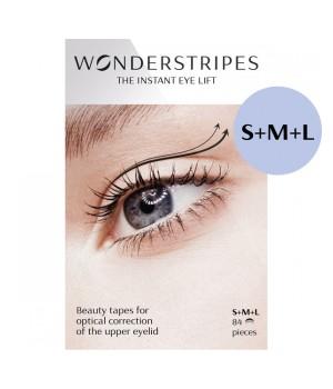 Wonderstripes Zestaw próbny Trial Pack S+M+L (84 szt) - WS-TP