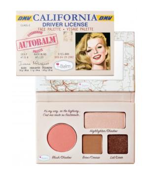 theBalm Paleta cieni Autobalm California (TB-PALETTE15)
