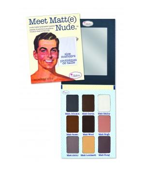 theBalm Paleta cieni Meet Matt(e) Nude (TB-PALETTE7)