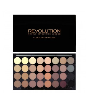 Makeup Revolution Paleta cieni 32 Flawless Matte (MUR-32FM)