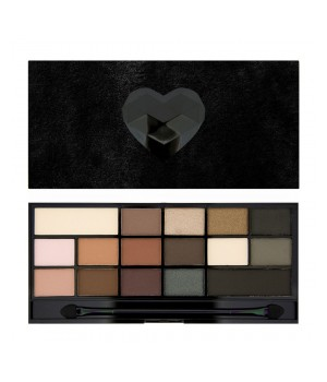 Makeup Revolution Paleta cieni Black Velvet (MUR-BV)