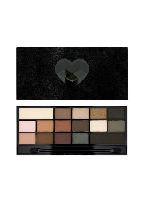 Makeup Revolution Paleta cieni Black Velvet