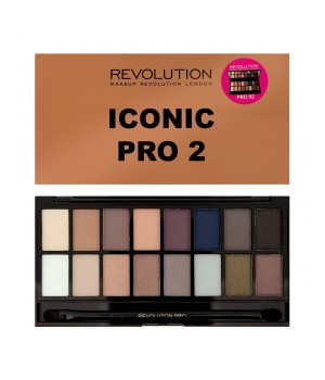 Makeup Revolution Paleta cieni Iconic PRO 2 - MUR-IP2