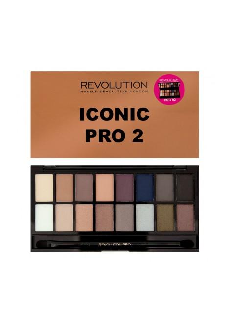 Makeup Revolution Paleta cieni Iconic PRO 2