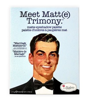 theBalm Meet Matt(e) Trimony Paleta cieni (TB-PALETTE10)