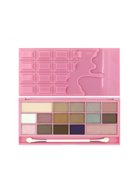 Makeup Revolution Paleta cieni Chocolate Pink Fizz