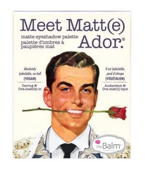 The Balm Paleta cieni Meet Matt(e) Ador (TB-PALETTE4)