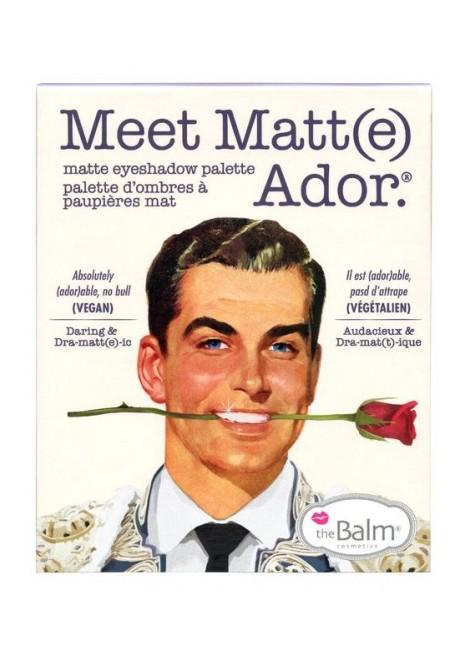 The Balm Paleta cieni Meet Matt(e) Ador