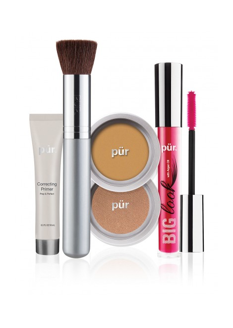 PUR Zestaw startowy Start Now 5-Piece Beauty-to-Go Collection