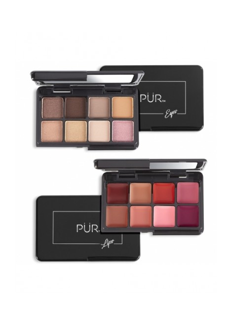 PUR Zestaw mini paletek Quick Pro Holiday Portables Day Dream On-The-Go Lipstick & Eyeshadow Pal