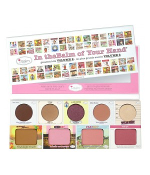 theBalm Paleta cieni/róży Of You Hand volume 2 (TB-PALETTE24)