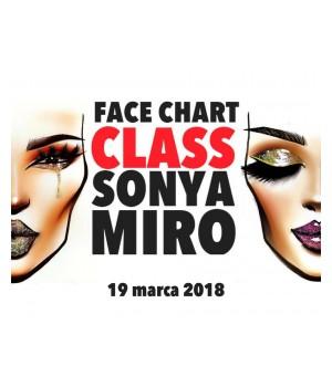 Warsztaty Face Chart z Sonya Miro 19.03.2018 (VSM-SM2)