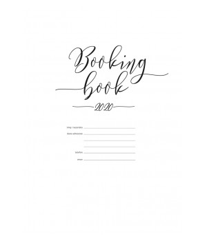 BOOKING BOOK Kalendarz 2020 WKŁAD - VSL-BBW20