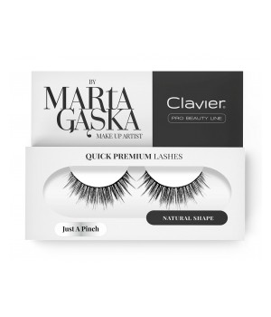 Clavier Rzęsy na Pasku Quick Premium Lashes by Marta Gąska – model JUST A PINCH (811) - CL-QL811