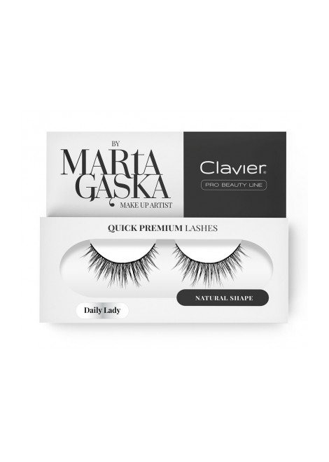 Clavier Rzęsy na Pasku Quick Premium Lashes by Marta Gąska – model DAILY LADY (813)