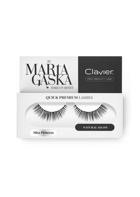 Clavier Rzęsy na Pasku Quick Premium Lashes by Marta Gąska – model MISS PRINCESS (823)