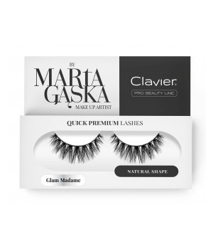 Clavier Rzęsy na Pasku Quick Premium Lashes by Marta Gąska – model GLAM MADAME (829) (CL-QL829)