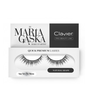 Clavier Rzęsy na Pasku Quick Premium Lashes by Marta Gąska – model SAY YES TO MESS (sk09) (CL-QLSK09)