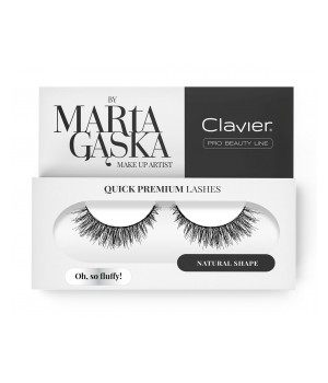Clavier Rzęsy na Pasku Quick Premium Lashes by Marta Gąska – model OH, SO FLUFFY! (sk57) - CL-QLSK57