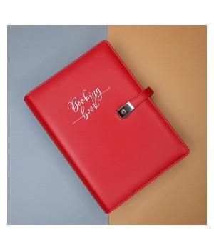 BOOKING BOOK Kalendarz 2021 Czerwony (VSL-BBCZ)