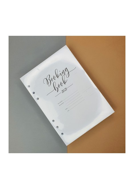 BOOKING BOOK Kalendarz 2021 WKŁAD