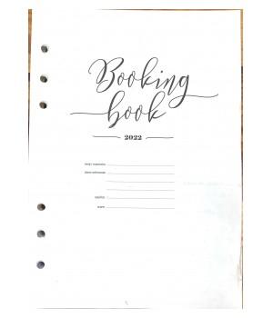BOOKING BOOK Kalendarz 2022 WKŁAD (VSL-BBW22)