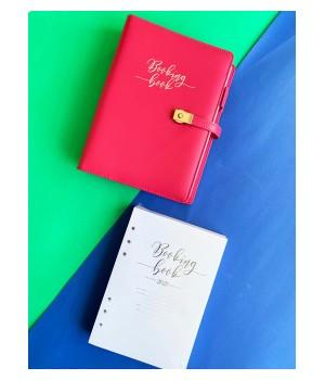 BOOKING BOOK Kalendarz Różowy Zestaw (VSL-BBPZ)